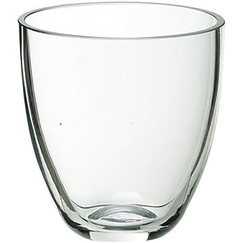 Amazon Com Ikea Pomp Vase Candle Holder Clear Glass 803 265 37 Size 7 Quot Home Amp Kitchen