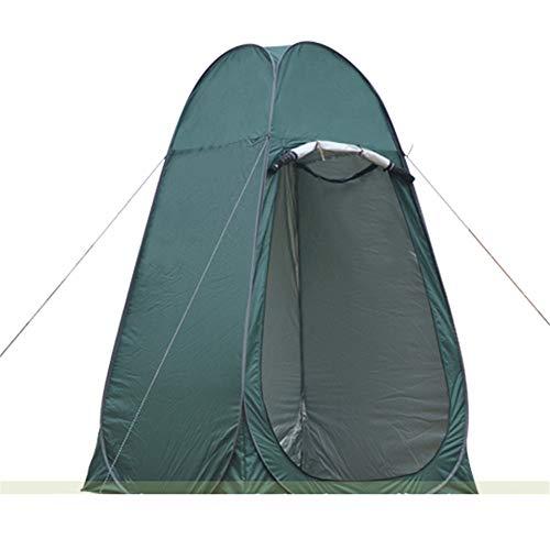逸脱徹底的に機転ポータブルポップアップトイレテントラージキャンプ用釣り入浴シャワーナイト&防風ロープ付き2人用テントルームの交換