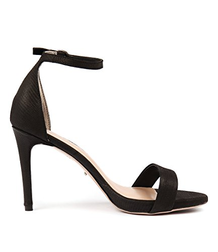 High BIANCO Cooper TONY Womens Heels Black Leather Shoes TB Sandals dXCq6pwxp