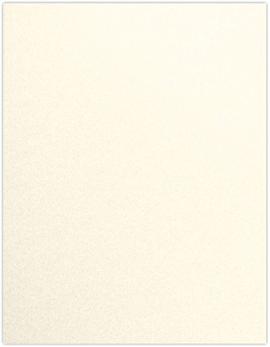 8 1/2 x 11 Paper - Champagne Metallic (50 Qty) | Perfect for Holiday crafting, invitations, scrapbooking and so much more! | 81211-P-M08-50 ()