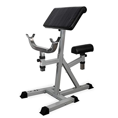 - Valor Fitness CB-11 Standing Arm Curl Station for Strength Training w/Pivot and Contoured Arm Rest
