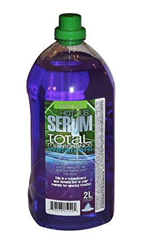 Hot Tub Serum Total Weekly Maintenance For Hot Tubs and Spas. 6-Month Watercare System by Hot Tub Serum