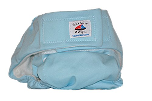 Kashmir Baby Organic Bamboo Pocket Adjustable One Size Cloth Diaper, Washable Reusable Fitted -