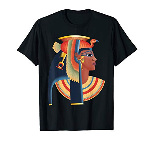 The queen Cleopatra t-shirt - egyptian costum shirt]()