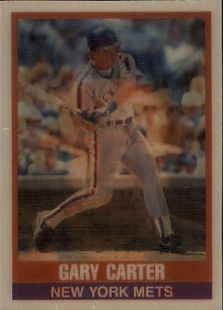 Amazoncom 1989 Sportflics Baseball Card 155 Gary Carter Mint