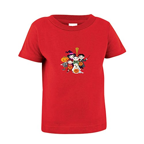 R5 Halloween Costumes (Children In Halloween Costumes Toddler Baby Kid T-Shirt Tee 6 Mo - 7T Red 5/6T)