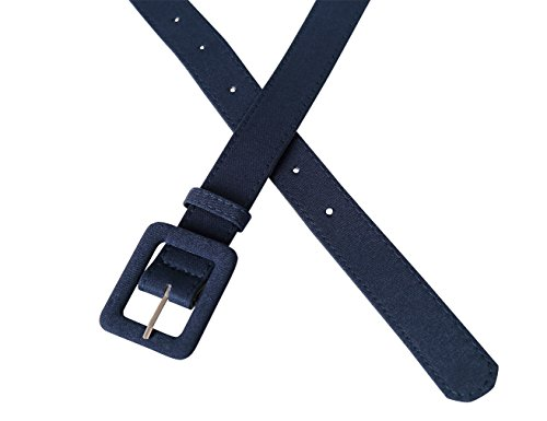 MUXXN Womens Belt- Vintage Various Colors Basic Belt for Casual Formal Dress or Jeans