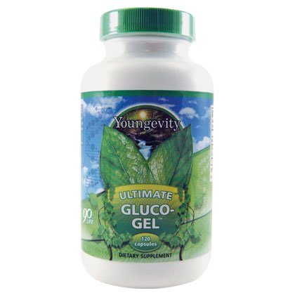 ULTIMATE GLUCO-GEL - 120 CAPSULES - 3 Bottles by YNG