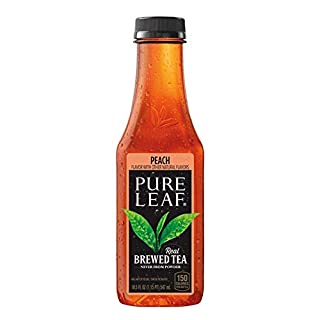 Pure Leaf Iced Tea, Peach, 18.5oz Bottles (12 Pack)