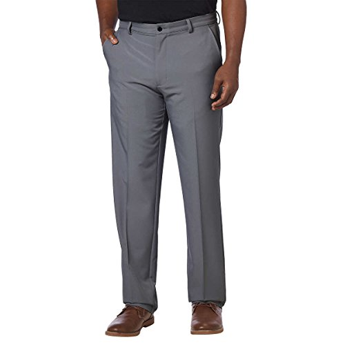 Greg Norman Mens ML75 Ultimate Travel Golf Pants (30W x 32L, Steel) by Greg Norman
