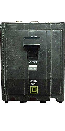 UPC 785901371953, SCHNEIDER ELECTRIC Miniature Circuit Breaker 240-Volt 15-Amp QOB315VH Molded Case 600V 110A