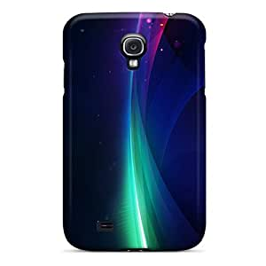 Top Quality Case Cover For Galaxy S4 Case With Nice Shine Wave Appearance