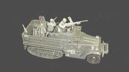 Classic Toy Soldiers 1/38 scale WWII US Half Track