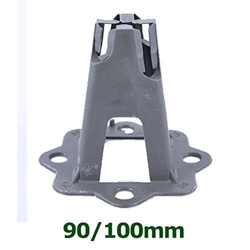Soportes espaciadores de malla para hormig/ón a granel ~ 40//50 65//75 90//100 mm ~ malla de malla para placa de grado