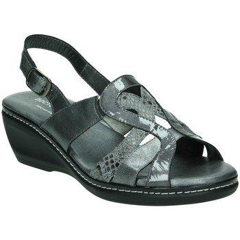 Zapatos grises de punta abierta formales Doctor Cutillas para mujer YHV98ODa