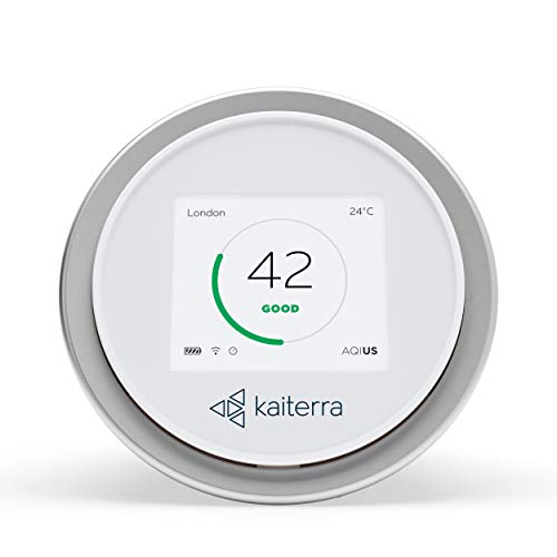 Kaiterra Laser Egg: Indoor Air Quality Monitor (Tracks PM2.5, Fine Dust, Temperature, and Humidity) ()
