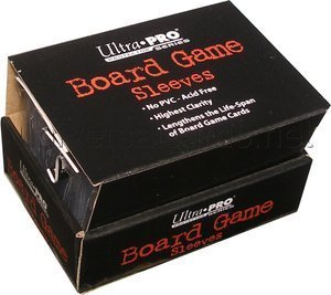 (Ultra Pro Board Game Sleeves - Mini American [41mm x 63mm])