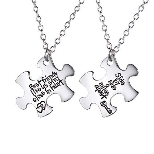HooAMI Best Friends Necklace Side by Side