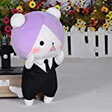 YOYOTOY Anime Gugure! Kokkuri-San Plush Doll Cosplay Inugami Pillow Short Stuffed Cute Toy for Gift 30Cm Must-Have 6 Year Old Girl Gifts The Favourite Superhero Birthday 3 Movie Collection