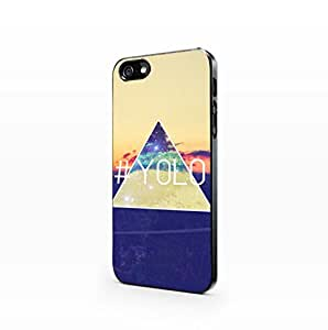 Typo - Yolo - Hard Plastic Case for Iphone 4/4s [Wireless Phone Accessory]
