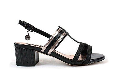 GIANMARCO VENTURI SA0108_1-P - Sandalias de Vestir Para Mujer Negro\r\n