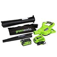 GreenWorks DigiPro G-MAX 40V Li-Ion Cordless 185MPH Blower/Vac