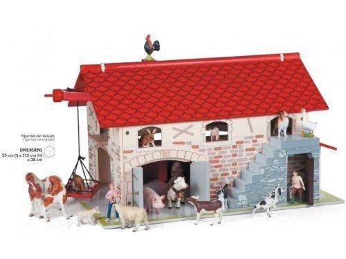 salida para la venta Papo 60101 The Big Farm Wooden Barn by Papo Papo Papo  envio rapido a ti