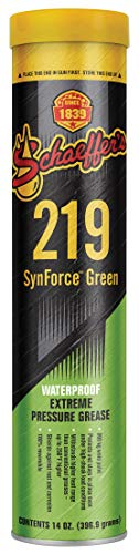Schaeffer Manufacturing Co. 02192-029S Synforce Green Extreme Pressure Grease