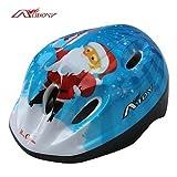 QHY AIDY Bike skating Christmas cartoon PVC shell helmets BJL - 001 , S