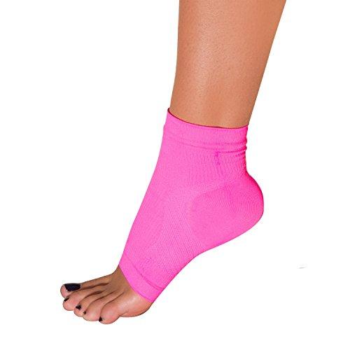 Plantar Fasciitis Sleeve - Arch Support, Heel Pain, Compression Sock Foot Sleeve