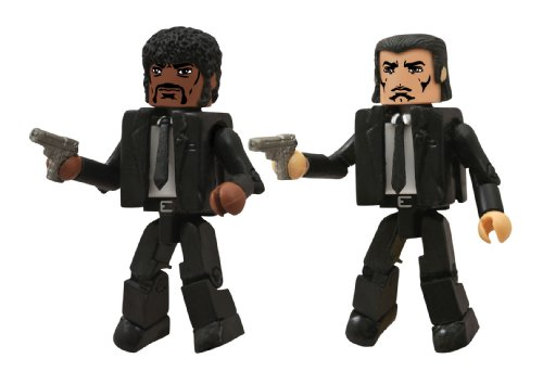 Diamond Select Toys Pulp Fiction Minimates: Jules and Vincent Action Figure (2-Pack)