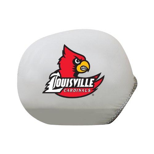 Pilot Alumni Group SMC-984S Mirror Cover with Logo (Collegiate Louisville Cardinals), ()