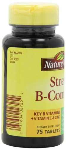 031604027254 - Nature Made Stress B Complex with Zinc Tablets, 75 Count carousel main 7