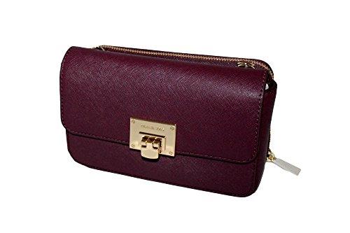 MICHAEL Michael Kors Tina Women's Wallet Clutch Xbody Shoulder Leather Double Bag MK PRINTED by MICHAEL Michael Kors