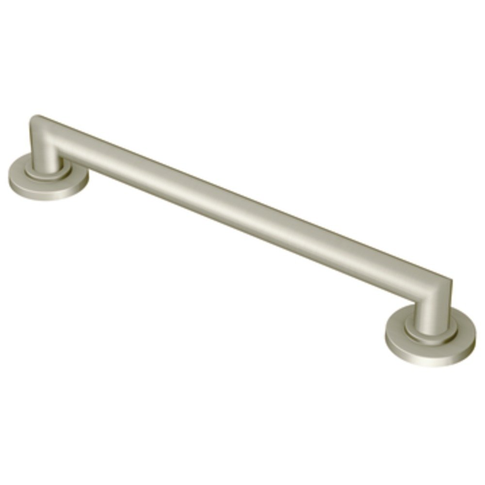 Moen Yg0824bn Arris 24 Inch Designer Grab Bar Brushed Nickel
