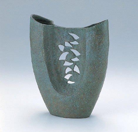 津田永寿『蒼風』銅製 B079R8RZBJ