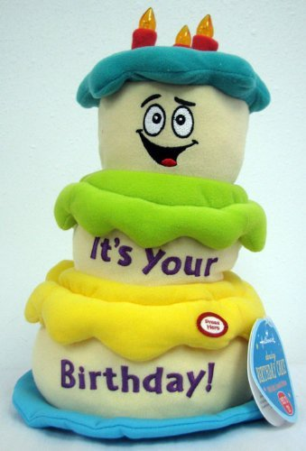 Admirable Hallmark Birthday Bdy1286 Birthday Dancing Cake Plush Amazon Co Personalised Birthday Cards Cominlily Jamesorg