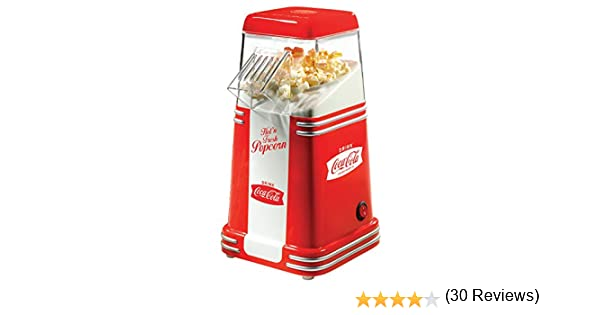 Máquina Pop Corn Simeo Coca Cola Coca: Amazon.es: Hogar