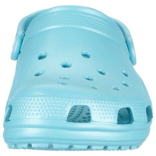 Crocs Classic Clog|Comfortable Slip On Casual Water Shoe, Aqua, 8 M US Women / 6 M US Men