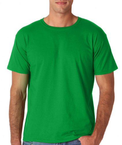 Gildan Men's Softstyle Ringspun T-shirt - Small - Irish Green