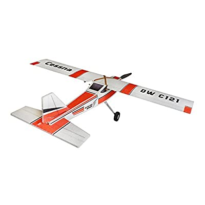 RC EPP Plane Cessna Model 960mm Wingspan Helicopter Drone, 4CH RC Airplane Kit to Build for Adults, DIY Electric Radio Remote Control RC Aeroplane Aircraft for Stable Outdoor Fly (KIT+Motor+ESC+Servo): Toys & Games