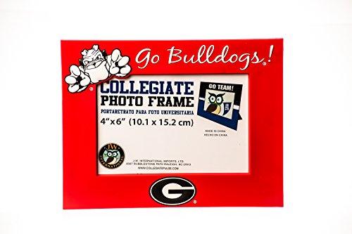 Ncaa Picture Frame (Collegiate Pulse GEORGIA BULLDOGS NCAA PVC PHOTO FRAME)