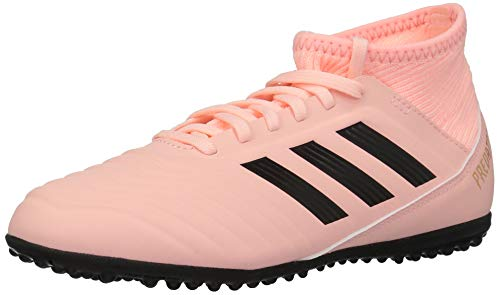 adidas Unisex Predator Tango 18.3 Turf Soccer Shoe, Clear Orange/Black/Trace Pink, 4.5 M US Big Kid