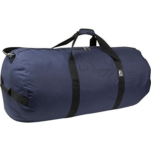 Everest 36-Inch Round Duffel, Navy, One Size
