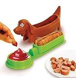 Evriholder HDH Hot Dog Slicer, Colors May Vary