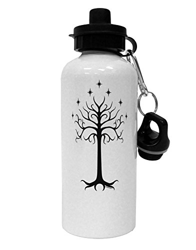 TooLoud The Royal White Tree Aluminum 600ml Water Bottle - White ()