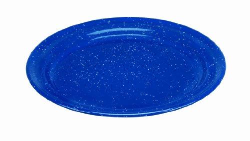 Cinsa 311352 Camp Ware Dinner Plate, 8-1/2-Inch, Royal Speckled Blue