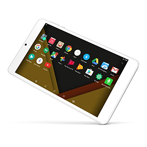 Yuntab 7 inch Android6.0 Tablet PC Alloy metal back C7 Quad Core IPS 8001280 Screen 2GB+16GB with WIFI GPS and Dual Camera (silver) by Yuntab (Image #1)