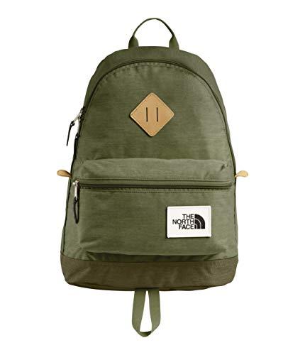 Green Berkeley - The North Face Unisex Mini Berkeley Backpack Four Leaf Clover Dark Heather/New Taupe Green Dark Heather One Size