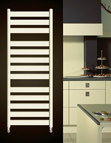 Diseño baño Radiador VERSUS blanco 1300 x 500 mm. recto toallero calentador de toallas